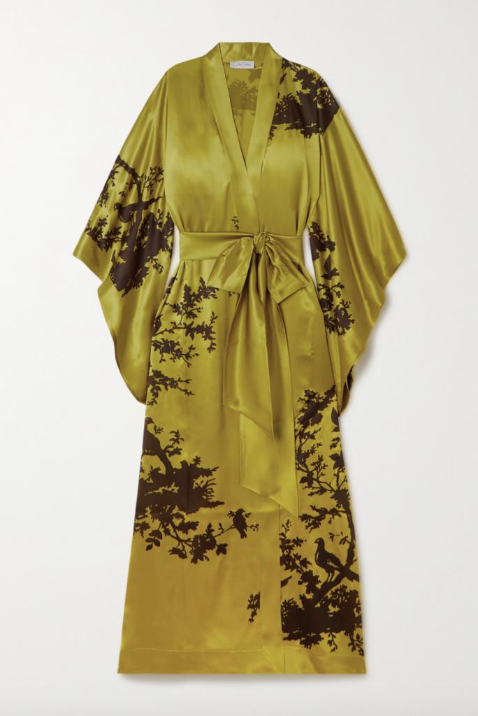 Carine Gilson Chartreuse Robe