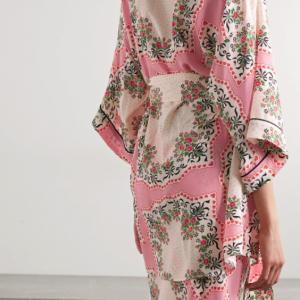 Lingerie Wishlist: Rodarte Floral Silk Crepe de Chine Robe and Dress