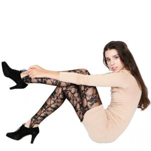 Trend Alert: Sheer Mesh & Lace Leggings