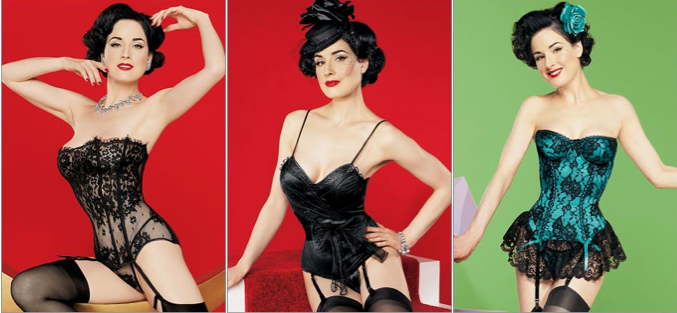 f7087939b9eb6 For the Burlesque Goddess in You: Dita Von Teese's First 'Von ...