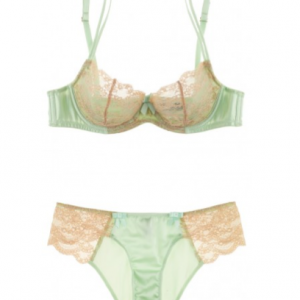 Lust Objects: Myla 'Isabella' Pistachio Bra & Panty
