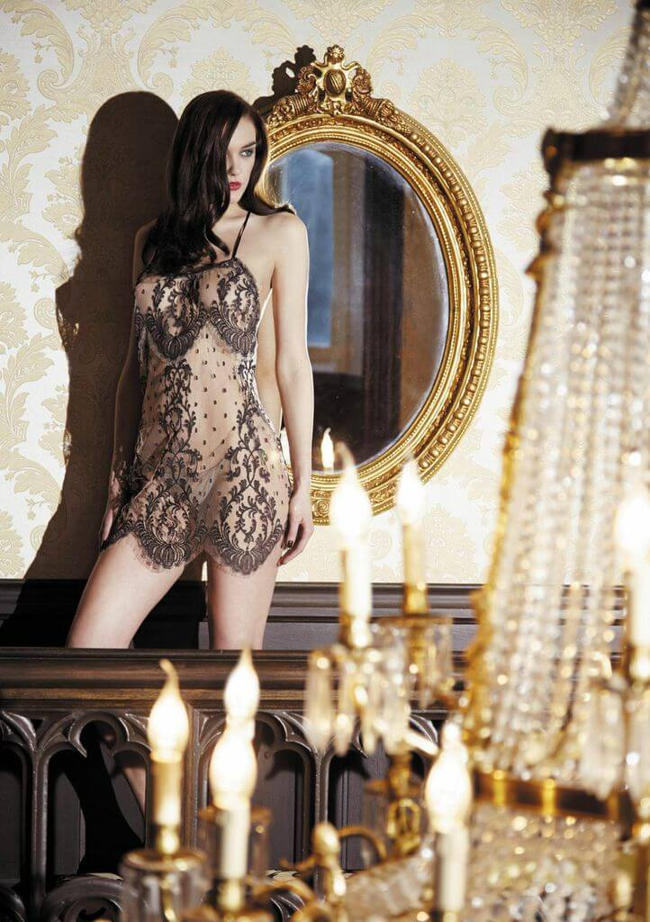 Shell Belle Lace Chemise