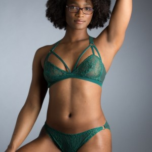 Lingerie Review: Lonely Sabel Cutout Bra & Tri Brief