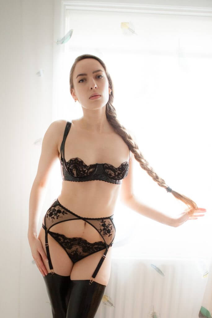Loveday london luxury lingerie review leather lace for Hot blog photos