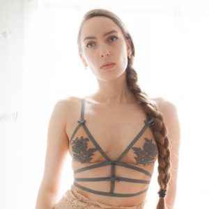 Lingerie Review: 'Nikkie' Bralette By Skivvies By For Love & Lemons