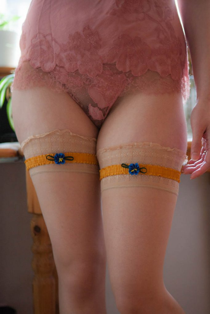 Garters by Previously. Photo by K. Laskowska