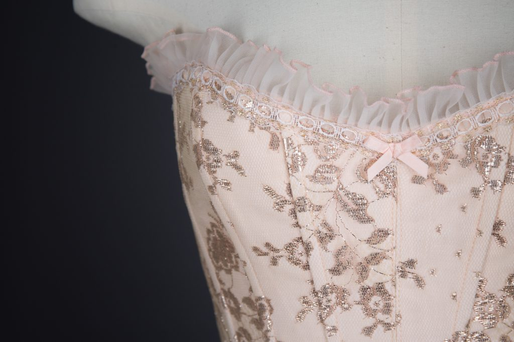 Fifi Chachnil corset. The Underpinnings Museum. Tigz Rice.