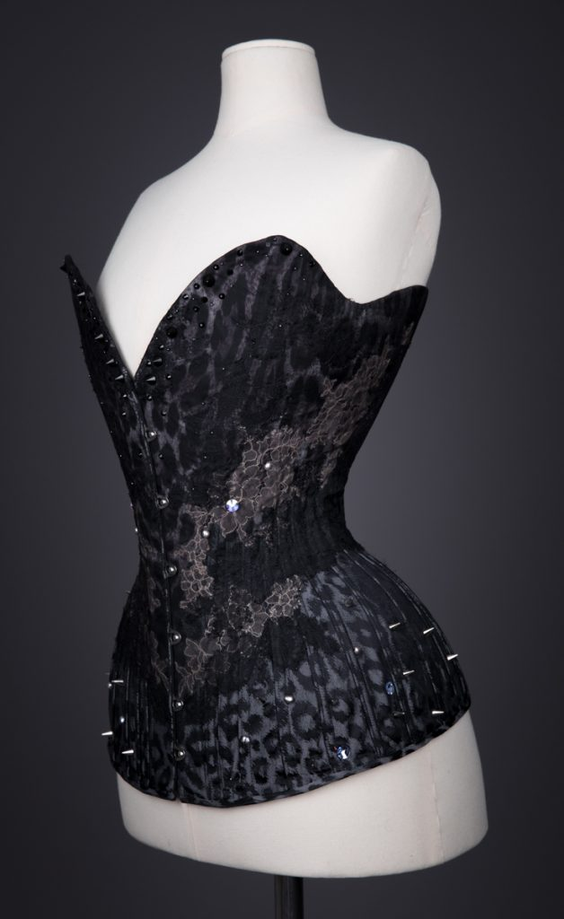 'Moth' corset by Sparklewren. Photography by Tigz Rice for The Underpinnings Museum.