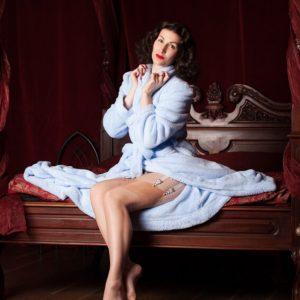 Lingerie Wishlist: Betty Blue's Loungerie 'Lucille' Robe