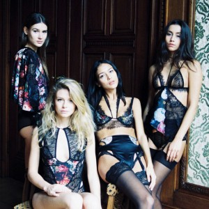 Introducing Tisja Damen: Intricate Patchwork Lingerie