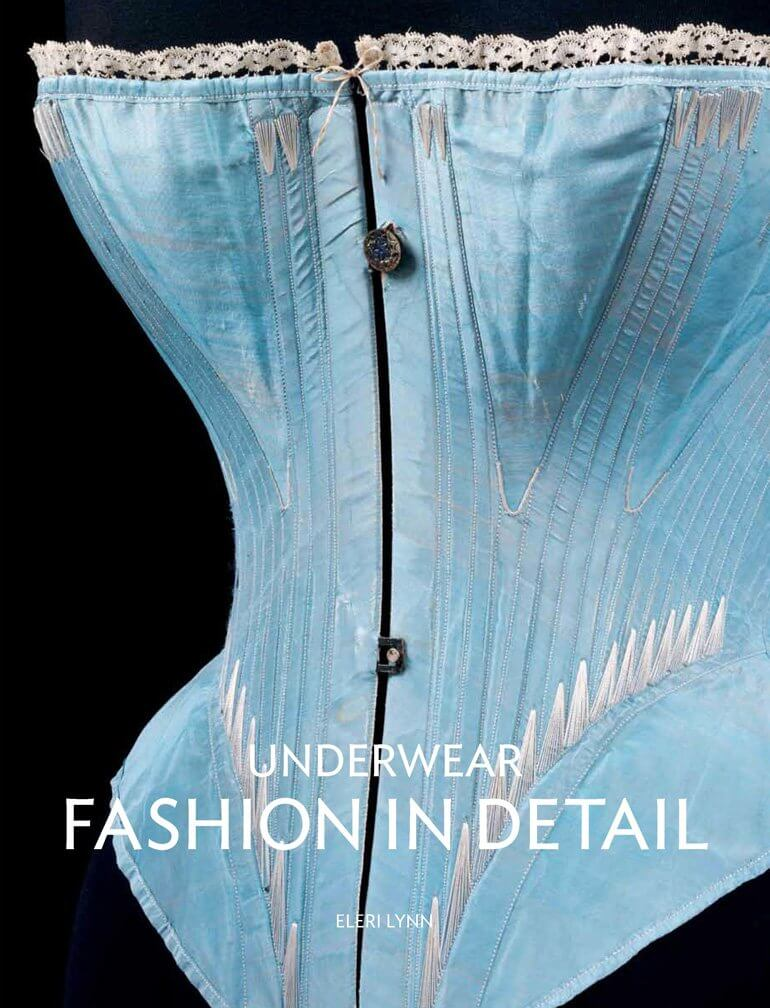 Flossed corset on the cover of Underwear: Fashion in Detail