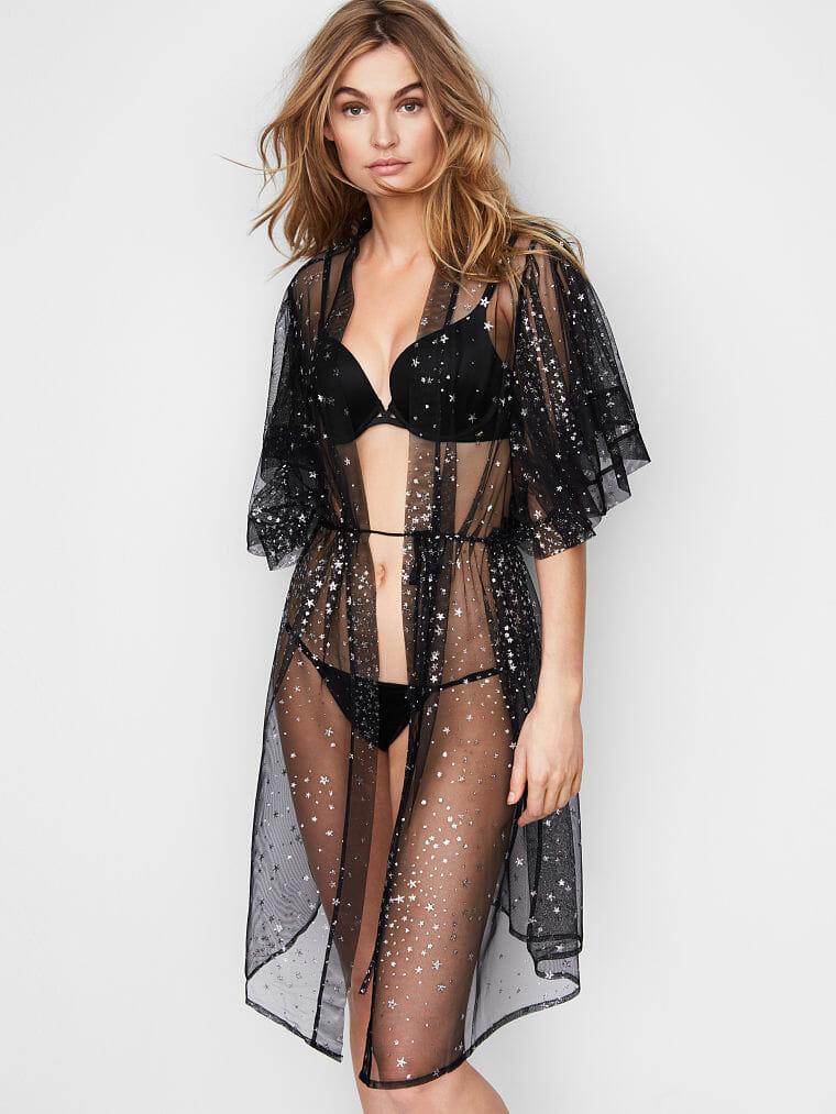 Victoria's Secret Stars Robe - Starry, Celestial-Inspired Lingerie