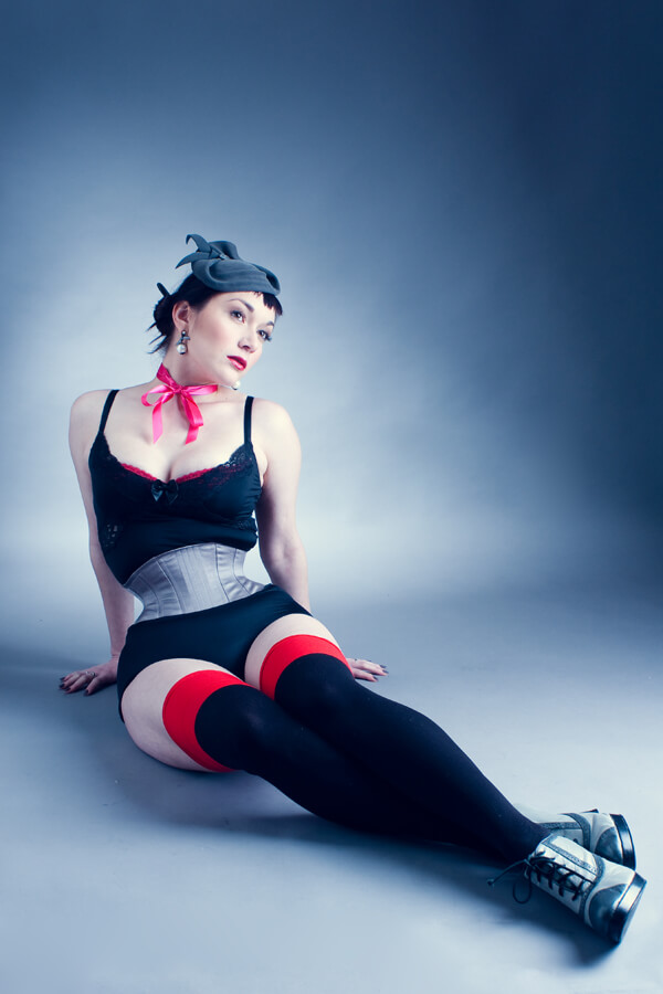 Photo © Antonio Abadia | Model: Victoria Dagger | Corset: Waspie by Electra Designs