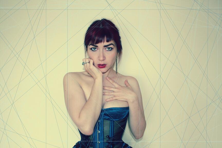 Corset: Pop Antique | Model: Victoria Dagger | Photo © Lauren Luck