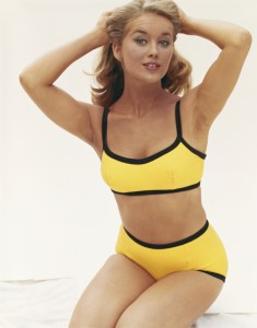 Vintage Yellow Swimsuit