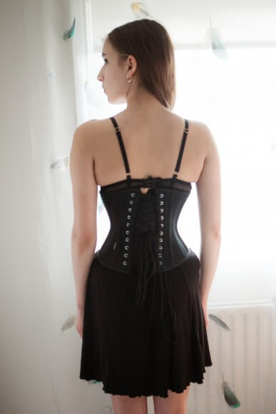 Vollers 'Waist Hugger' underbust corset. Photo by K Laskowska