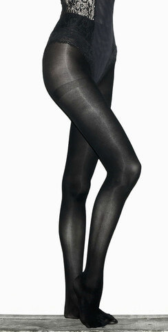 "Wade & Belle ""Not Too Tights"" in opaque black"