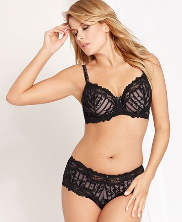 Whimsy by Lunaire Barbados Semi Demi Underwire Bra - $30.00