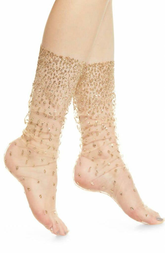 Lirika Matoshi Sparkle Tulle Socks