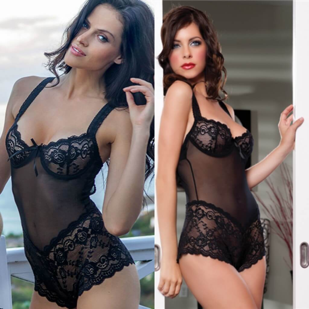 2fea66110b Seven  til Midnight teddy sold at Adore Me.