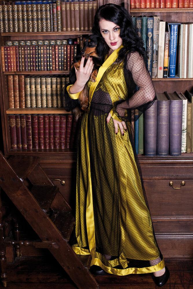 Agatha Robe by Betty Blues Loungerie