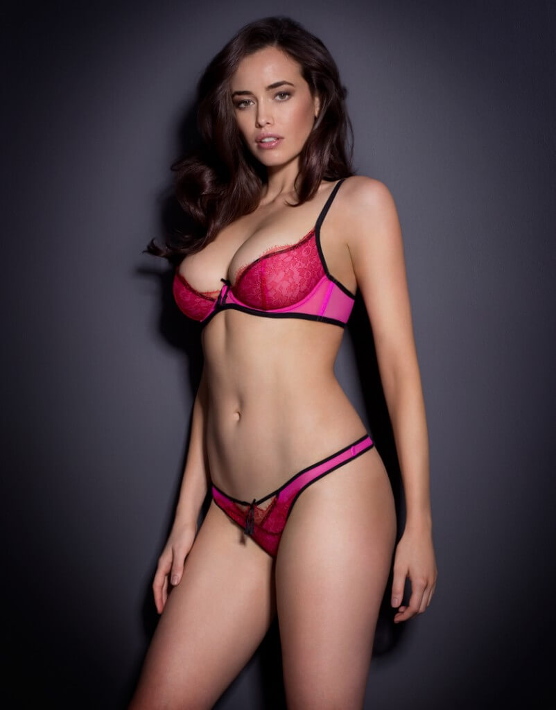 Agent Provocateur 'Megan' Bra and Thong - $120