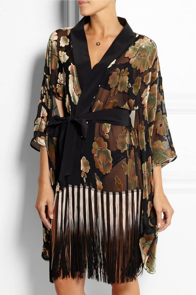 Agent Provocateur Mistie Fringed Robe - $2,590.00