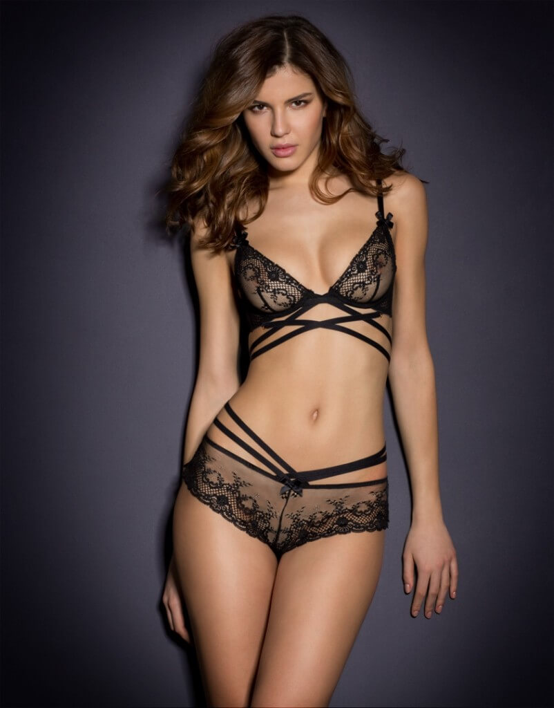 Agent Provocateur 'Sandra' Bra and French Knicker - $120