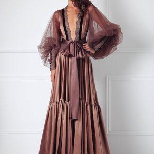 Lingerie Wishlist: Amoralle Almond Magnum Robe