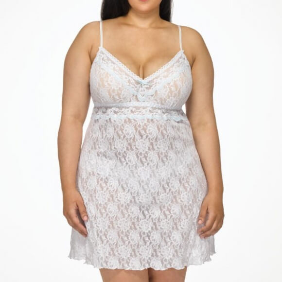 Annabelle Chemise in Plus Size by Hanky Panky  1X to 3X
