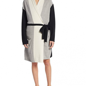 Sale Lingerie of the Week: Arlotta Cashmere Blocked Robe