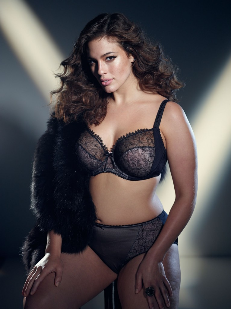 b6e36b8402f Lingerie of the Week  Ashley Graham for Addition Elle Embroidered Bra