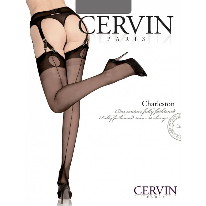de2fb2f72 Review  Cervin Silk Stockings   Mesh Suspender Belt