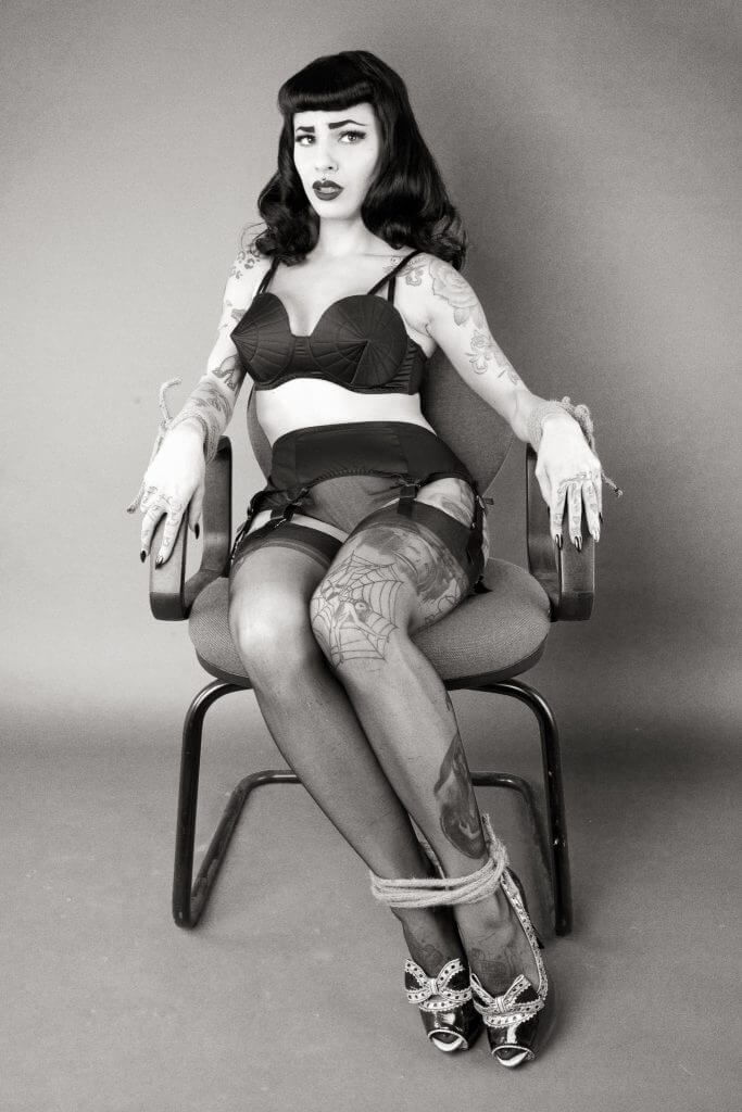 bettie page lingerie by playful promises
