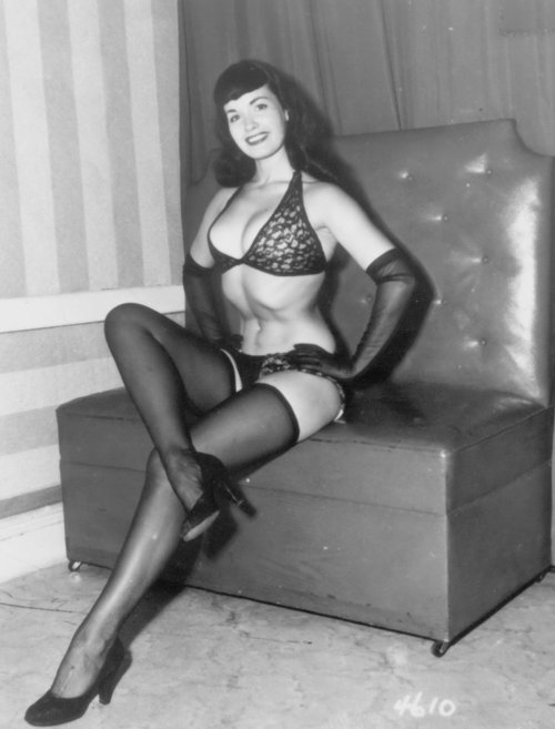 Betty Page Photos: The 10 Most Influential Lingerie Icons Of All Time