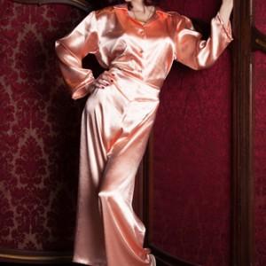 Luxury Loungewear Review: Peach Pajamas by Bettie Blues Loungerie