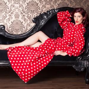 Sale Lingerie of the Week: Betty Blue's Loungerie Fleece Bettie Robe