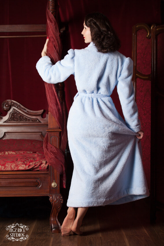 betty blue's loungerie lucille robe