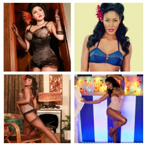 The Lingerie Addict is One of Buzzfeed's Favorite Black Pinups!