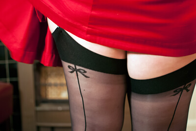 Sweet Pins Stockings in Plus SIze
