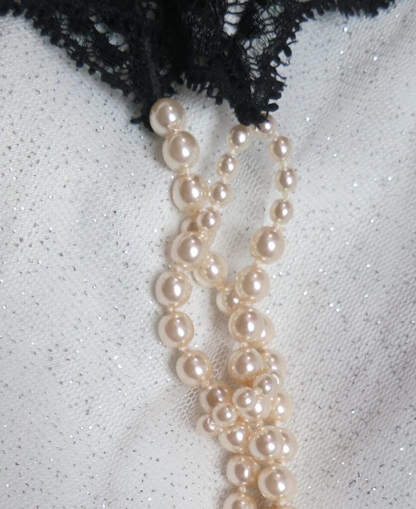 e5822ac68a2 Bracli Paris Double Pearl Thong detail. Photo by Quinne Myers