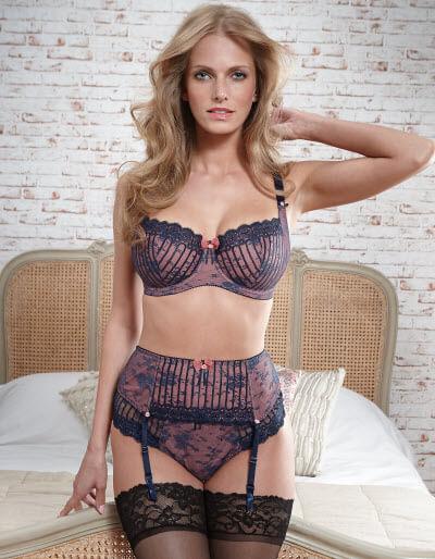 £62.00 $97 USD http://www.bravissimo.com/products/lingerie/sensational-sets/mademoiselle-bra/navy-rose/ln110nvr/?new=true&page=2