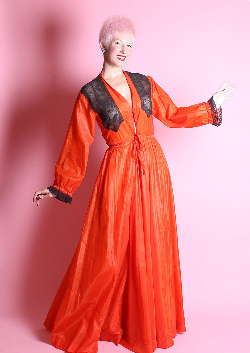 Lingerie of the Week: Vintage 1930\'s Nylon Dressing Gown from Butch ...