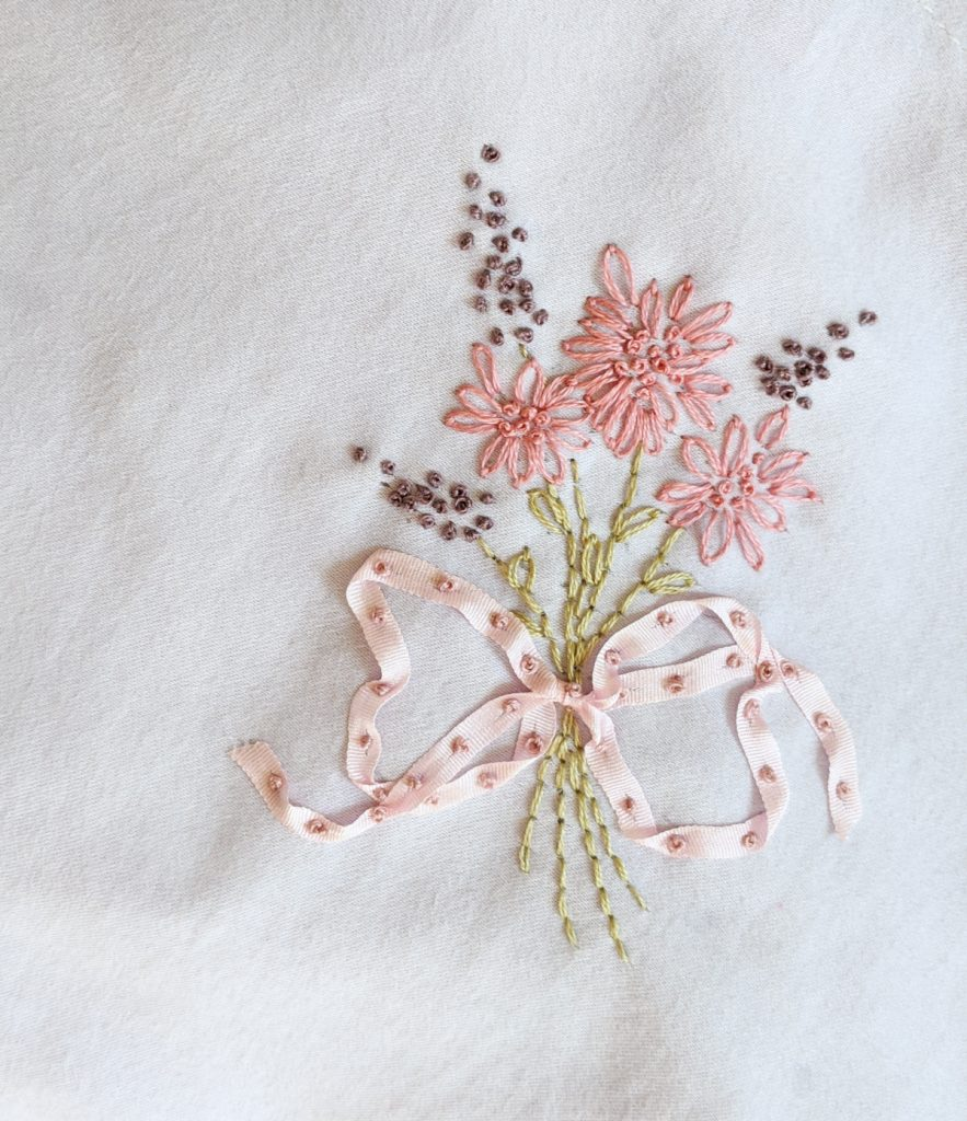 final floral lingerie embroidery