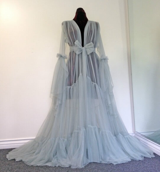 Vintage Dressing Gown: Lingerie Of The Week: Catherine D'Lish Burlesque Dressing