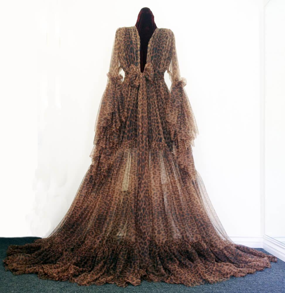 catherine d'lish leopard robe 1