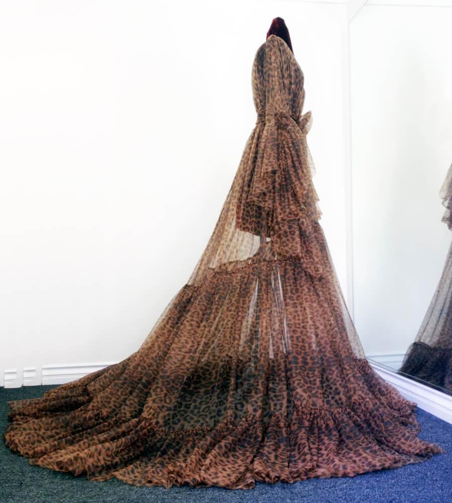catherine d'lish leopard robe 2