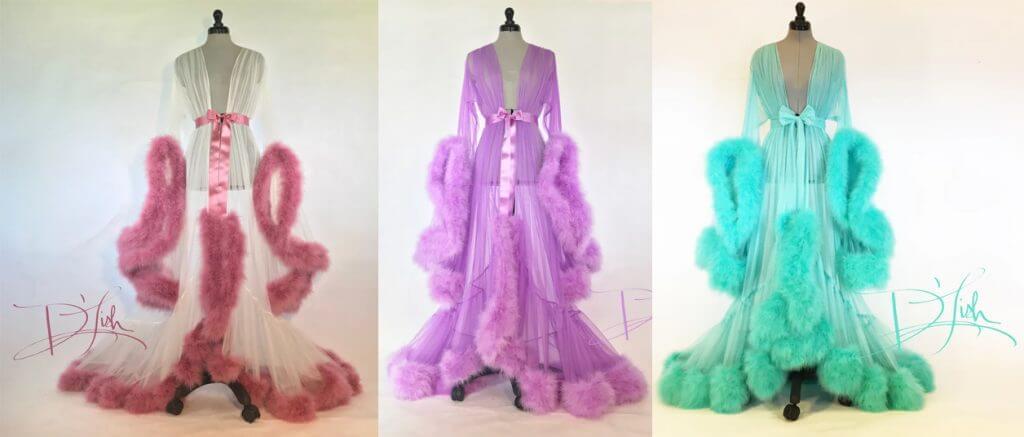 Lingerie Review: Boudoir by Catherine D\'Lish Cassandra Dressing Gown