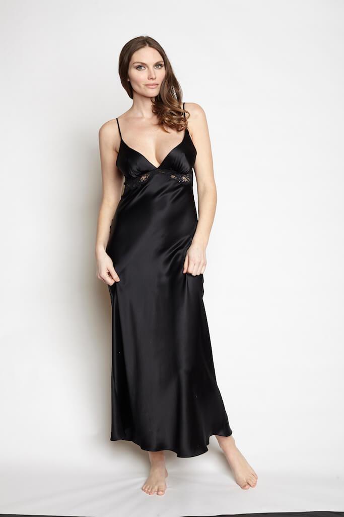 christine_lingerie_goddess_gown_kohl
