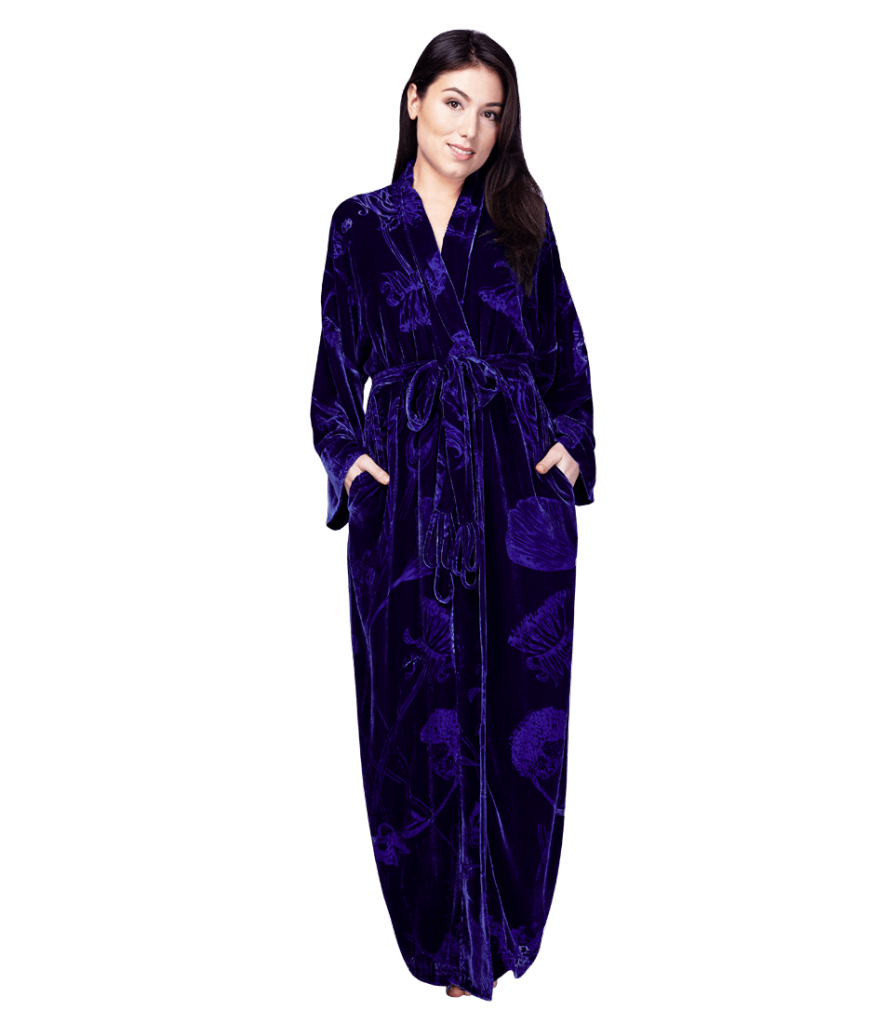 Christine Lingerie Faberge Long Robe - $640.00